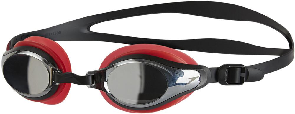 speedo Mariner Supreme Mirror - Lunettes de natation - rouge/noir 2018 Lunettes de natation QQV8HhKCW